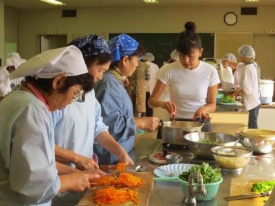 庄原・ふれあい食材料理教室